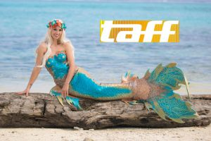 Australian Mermaid on German TV