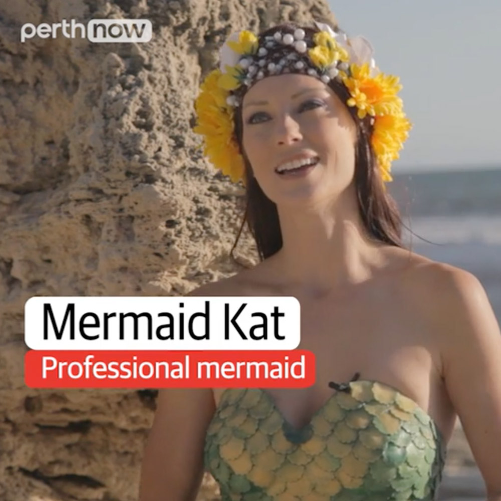 Interview with a Mermaid - Perth Now
