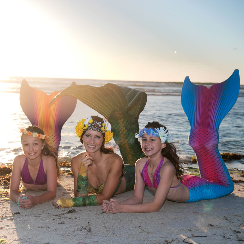 Learn how to be a mermaid - join Mermaid Kat Academy in Perth