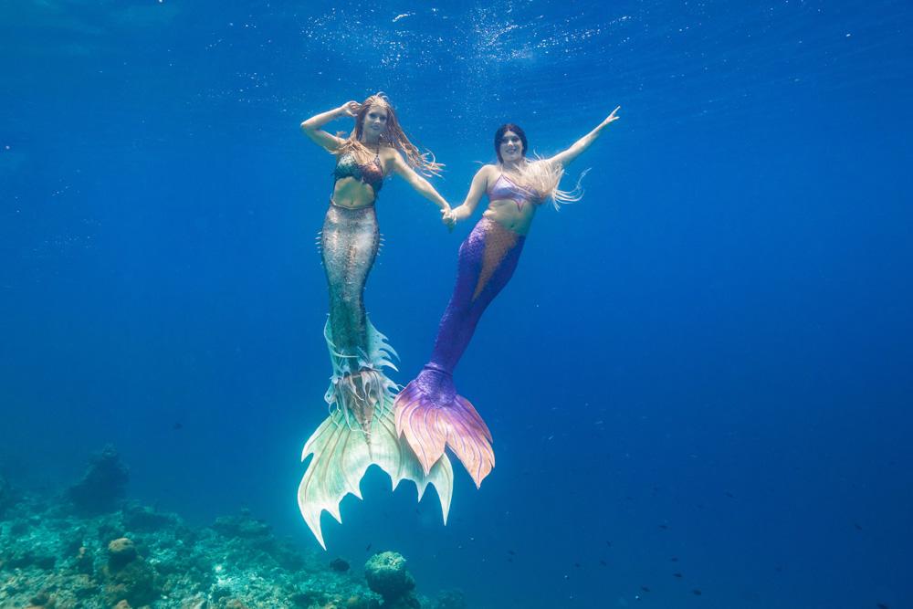 Mermaid Retreat Bali with Mermaid Kat from Australia