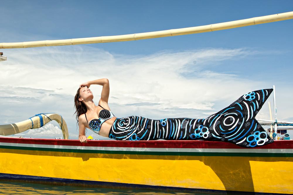 Underwatermodel- and Mermaid Week Bali