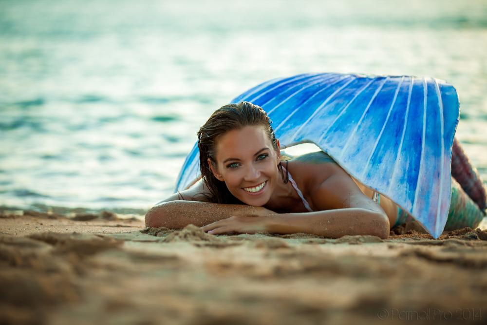 Mermaid photo retreat Italy