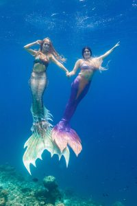 Mermaid vacation Italy with Mermaid Kat
