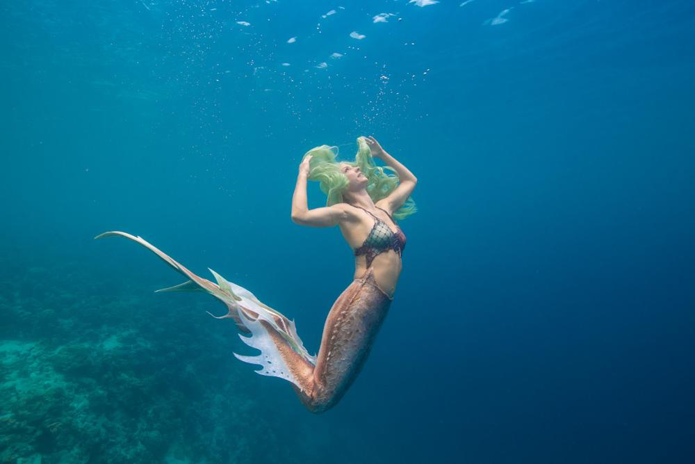 Underwater photo shoot - Mermaid Retreat Italy