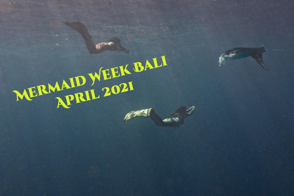 Mermaid retreat Bali with Mermaid Kat