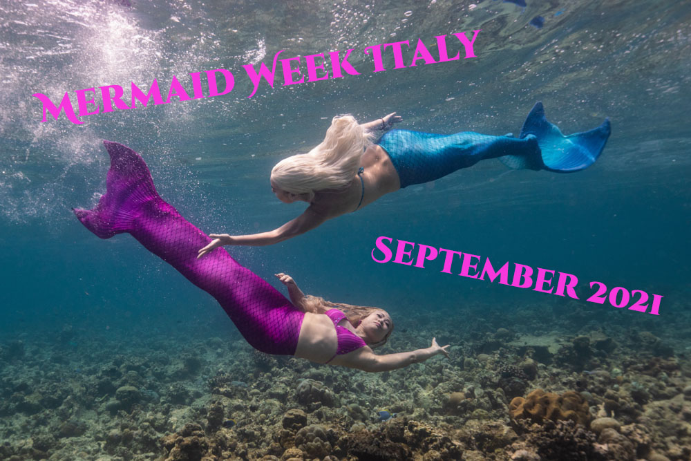 Mermaid Retreat Italy with Mermaid Kat