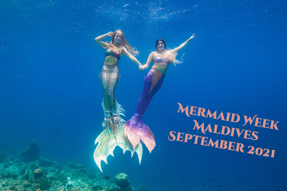 Maldives Mermaid Retreat with Mermaid Kat
