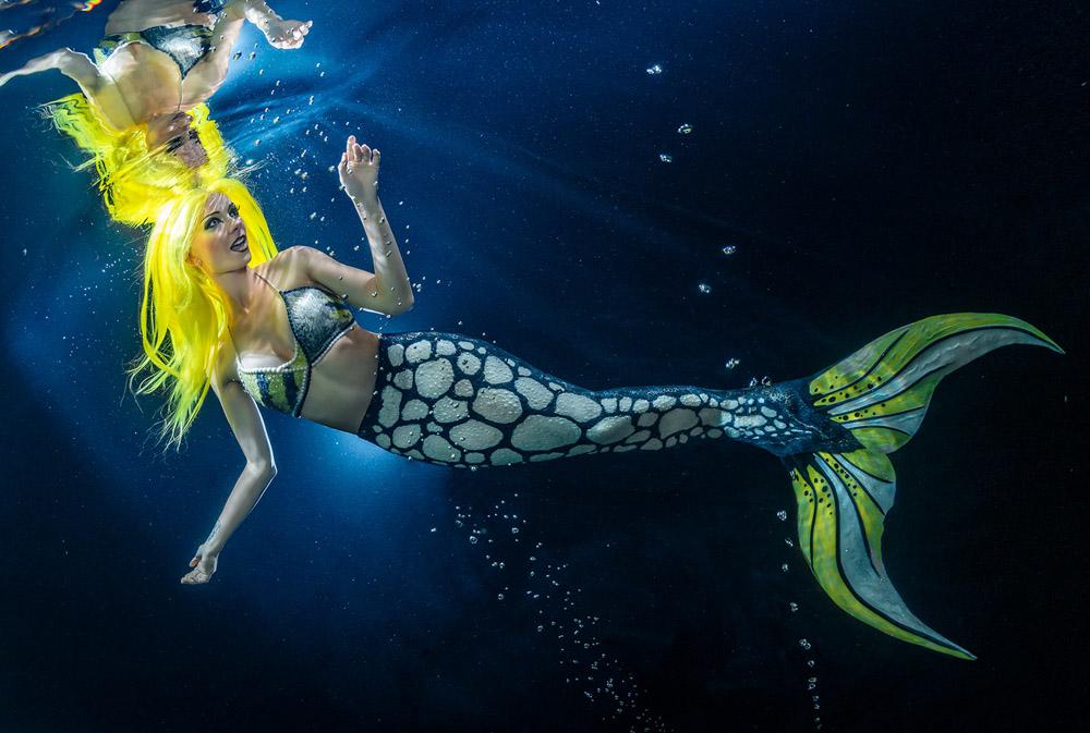 Real Life Mermaid Kat - Underwater Model Katrin Gray